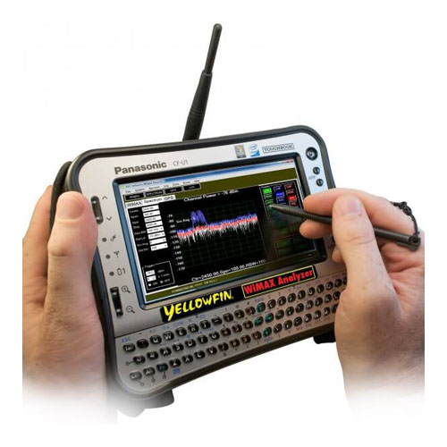 YellowFin Fixed WiMAX Analyzer - 4G Analysis and Drive Studies - G8LMW Consulting
