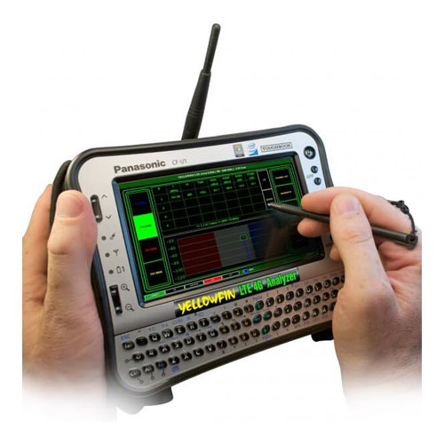 YellowFin LTE4G Analyzer - 4G Analysis and Drive Studies - G8LMW Consulting