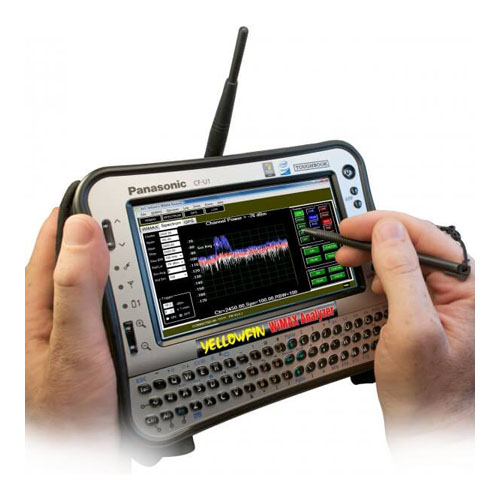YellowFin Mobile WiMAX Analyzer - 4G Analysis and Drive Studies - G8LMW Consulting