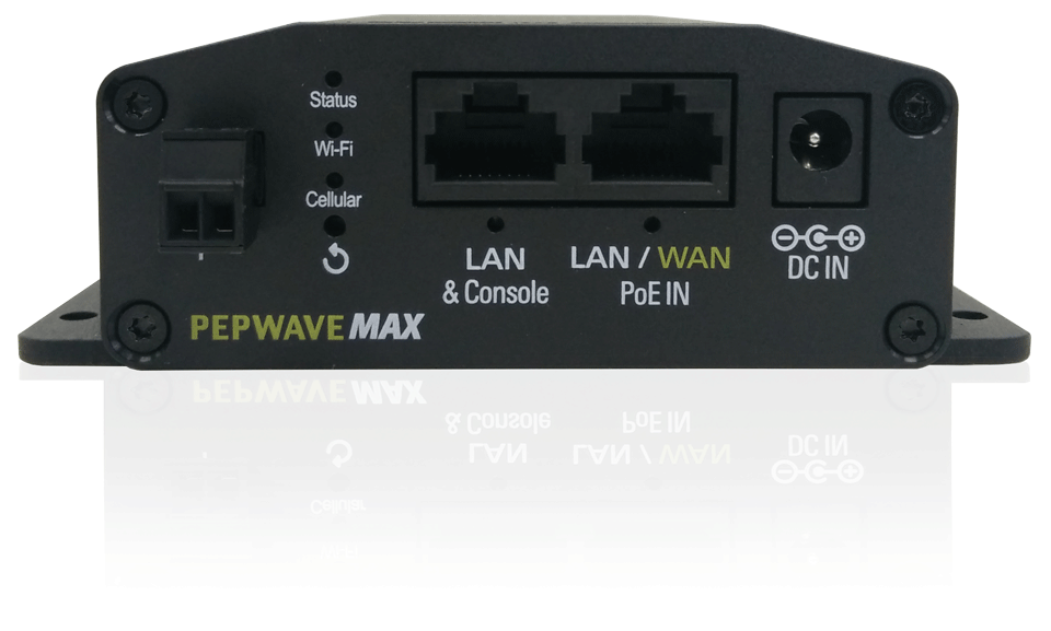 Pepwave MAX BR1 Mini Single Cellular Router - G8LMW Consulting