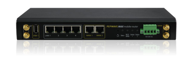 Pepwave MAX Multi Cellular Router - G8LMW Consulting
